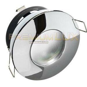 PREMIUMLUX Podhledové bodové svítidlo ZETA chrom, IP44, LUX01239